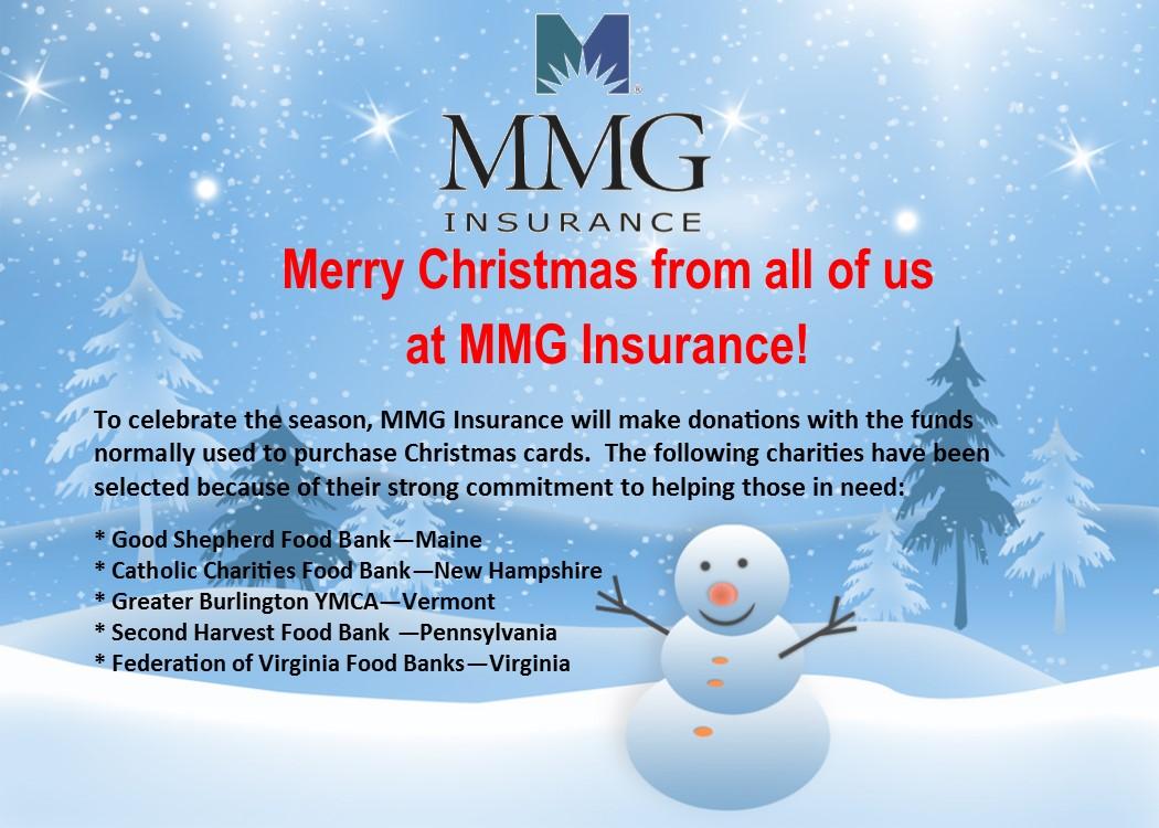 Holiday GAB 2017 - MMG Insurance