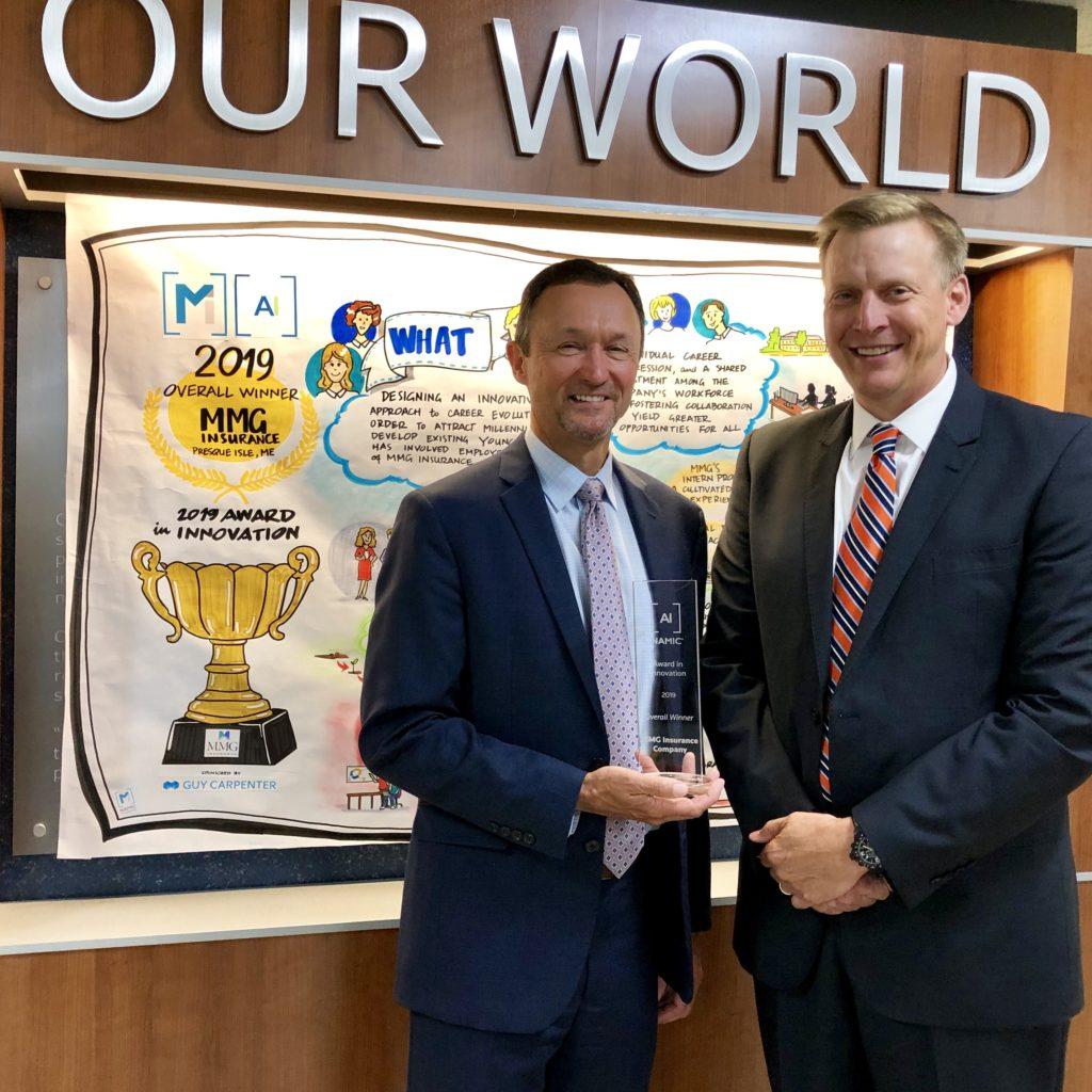 MMG Receives National Award in Innovation